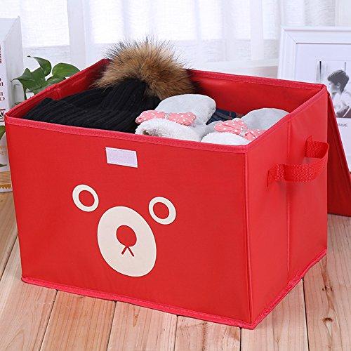 Onlyup Caja de almacenamiento para niños, cesta de cuerda de algodón, cesta de almacenamiento de tela, cesta para la ropa en la habitación de los niños, cesta decorativa para plantas, 28 x 28 x 38 cm