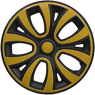 Suchergebnis Auf Für Schwarz Gelb Radkappen Reifen Felgen Auto Motorrad