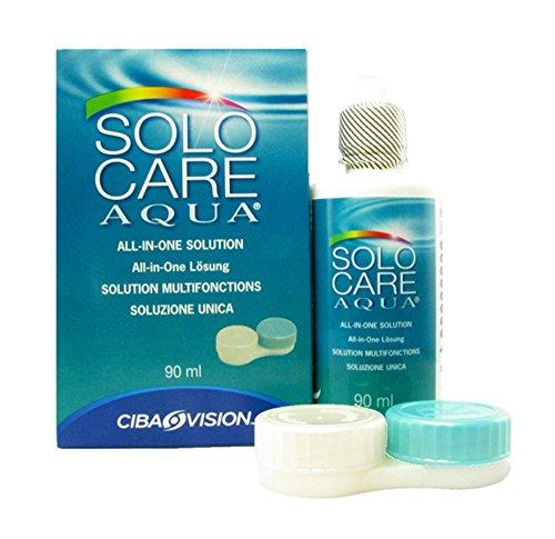 Solocare Reinigungslösung für Kontaktlinsen, 90ml