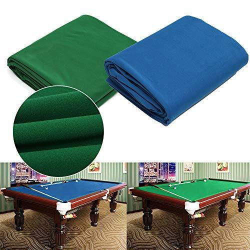 Tela de billar,Mesa de Billar de Fieltro de Mesa de Billar,Resistente a los desgarros Durable Snooker y Paño de Piscina para ubicaciones comerciales, Bares y Clubes