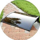 XXAN Markise Vordach for Türen Und Fenster Türüberdachung Können for Wohn-oder Gewerbe Verwendet Werden (Size : 60x120cm)