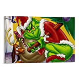 Grinch Cover for Facebook Poster dekorative Malerei