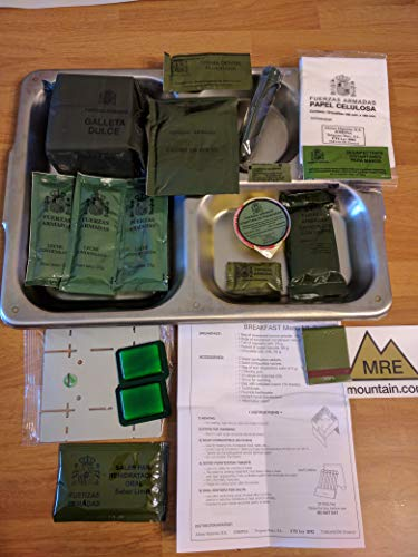 Spanish Army Ration Pack MRE's (Menu A3) 2