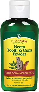 TheraNeem Toothpowder, Cinnamon, 2 Ounce
