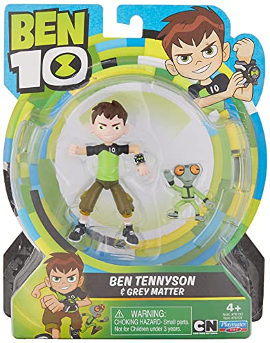 Product Image of the Ben 10 Ben & Grey Matter Action Figure