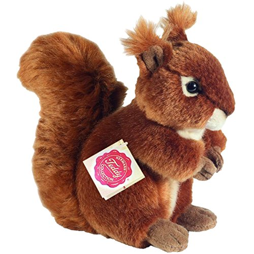 Hermann Teddy Collection 908180 - Plüsch-Eichhörnchen, 17 cm