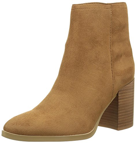 Buffalo Shoes Damen B006A-58 S0008F IMI Suede Kurzschaft Stiefel, Beige (Camel), 40