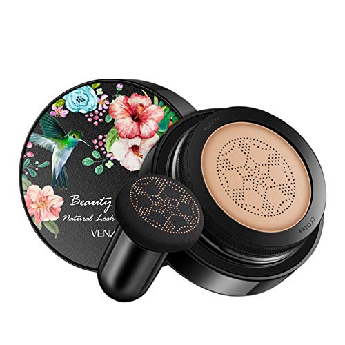 Onkessy Mushroom Air Cushion BB Cream Foundation Makeup Moisturizing Waterproof Cover Blemishes Concealer Makeup Base Primer Cream