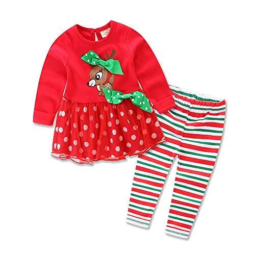 DYMAS Bambini di Vestito di Natale Bambini Bambino di Natale Cervi Autunno Nuovo Bambini Costume Baby Deer Set