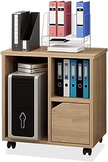 ZzheHou Armoire À Tiroirs De Bureau Dossier en Bois Cabinet Mobile Latéral for Home Office Besoin for Assembler Robuste Et...