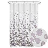Maytex Sylvia Shower Curtain Duschvorhang, violett, 70 x 72
