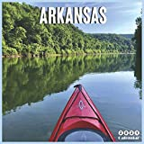 Arkansas 2021 Calendar: Official Arkansas Travel Wall Calendar 2021, 18 Months