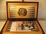 ChessEbook Backgammon 32 x 29 cm Holz -