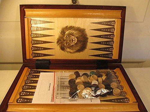 ChessEbook Backgammon 32 x 29 cm Holz