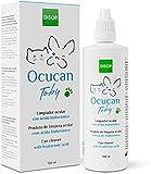 Ocucan Nettoyant Oculaire avec Acide hyaluronique pour l'hygiène des Yeux de Chiens et Chats (100 ML)