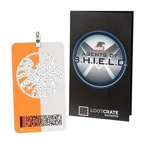 Marvel Agents of S.H.I.E.L.D. Loot Crate Exclusive Replica I.D. Badge