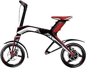 Robstep Bicicleta Eléctrica Plegable X1 con Bocinas BT,