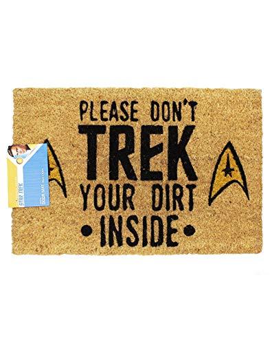 Star Trek Command Insignia Fußmatte | Offizielle Waren | Heimzubehör