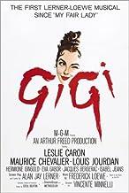 Póster 100 x 150 cm: Gigi, Leslie Caron, 1958 de Everett Collection - impresión artística, Nuevo póster artístico