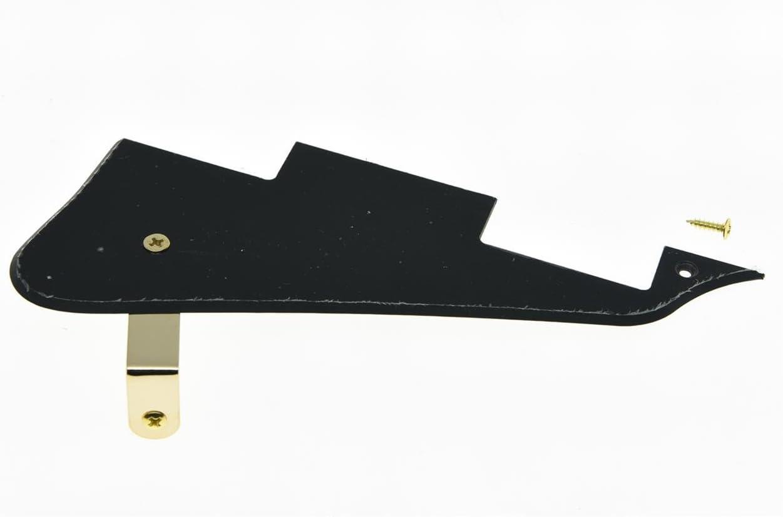 KAISH Black Pearl LP Guitar Pickguard Scratch Plate Fits for Epiphone Les Paul