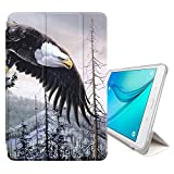 STPlus Eagle Bird Sky Animal Smart Cover With Back Case + Auto Sleep/Wake Function + Stand for Samsung Galaxy Tab A - 8' (T350/T351/T355 Series)