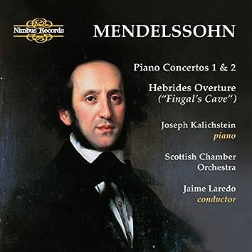 "Mendelssohn: Piano Concertos 1 & 2 - Hebrides Overture ""Fingal's Cave"""