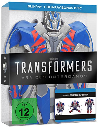 Transformers 4: Ära des Untergangs - Optimus Edition [Blu-ray] [Limited Edition]