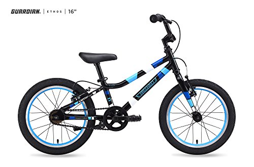Guardian Bike Company Ethos Safer Patented SureStop Brake System 16' Kids Bike,...