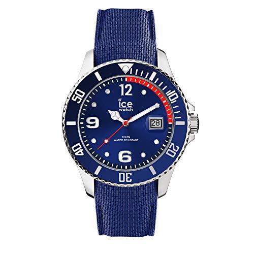 Ice-Watch - ICE steel Blue - Men\'s wristwatch with silicon strap - 015770 (Medium)