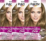 Poly Palette Perfect Gloss Haarverf 700 Honing Blond - 1set
