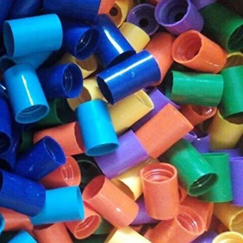luosh 2-teilige Flaschenanschlüsse Tornado-Anschluss Cyclone Tube für wissenschaftliche Experimente und Tests