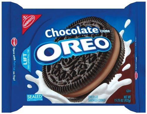 Oreo Schokolade Creme Oreo Biskuite, 432 g Pakete (4er Packung)