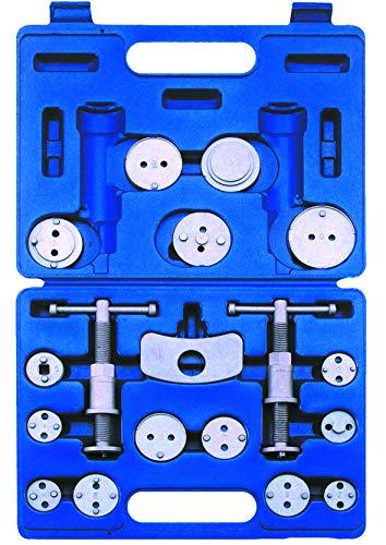 KUNZER (7BW18) Bremskolben-Rückstellsatz 18-tlg. – Werkzeugset für zahlreiche Hersteller und Marken – inkl. Koffer