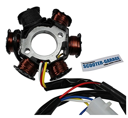 Lichtmaschine - für Peugeot Speedfight 1 & 2 50, Buxy 50, SV 50, Trekker 50, Zenith 50