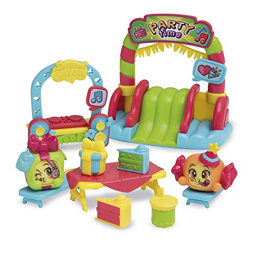 MOJIPOPS- Playset I Like Party Serie 1 Figuras coleccionables, Color surtido (Magic Box PMPSB216IN40)