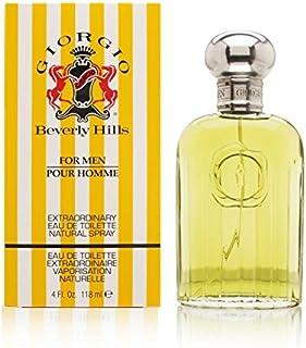 Giorgio Beverley Hills Yellow Eau de Toilette for Men, 118ml