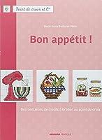 MANGO 「BON APPETIT」 クロスステッチ図案・作品集-フランス語
