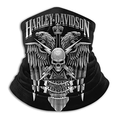 Maschera per il viso Harley Davidson Logo riutilizzabile lavabile panno Bandane Donna Uomo Collo Ghetta