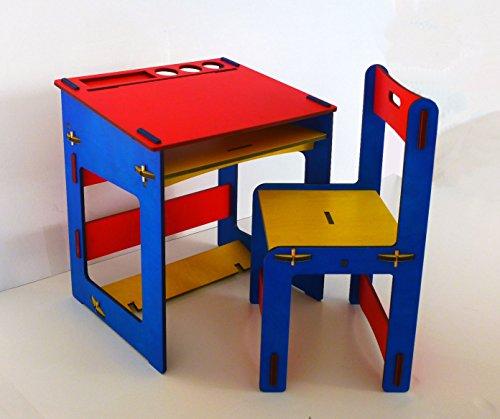 Colibrì SRLS - Tavolino per bambino in legno con sedia