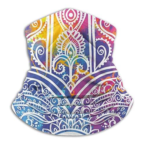 not Hamsa met ornamental patroon oogbescherming symbool in vibrant waterkleuren microfiber nek warme vis skiën beschermend nek schaar