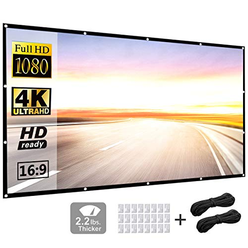 Projector Screen 120 inch 16:9 H...