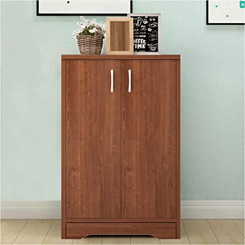 Demp huishouden dressoir keuken double deur locker put in de woonkamer massief hout draagbare locker kast opbergdoos 82 x 30 x 50 cm XMJ