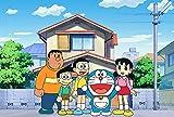 Rompecabezas de dibujos animados Fat Tiger Doraemon para niños adultos, grandes pinturas intelectuales educativas juego de rompecabezas juguetes regalo para juegos decoración de la pared del hogar