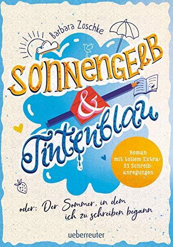 Sonnengelb & Tintenblau oder: Der Sommer, in dem ich zu schreiben begann