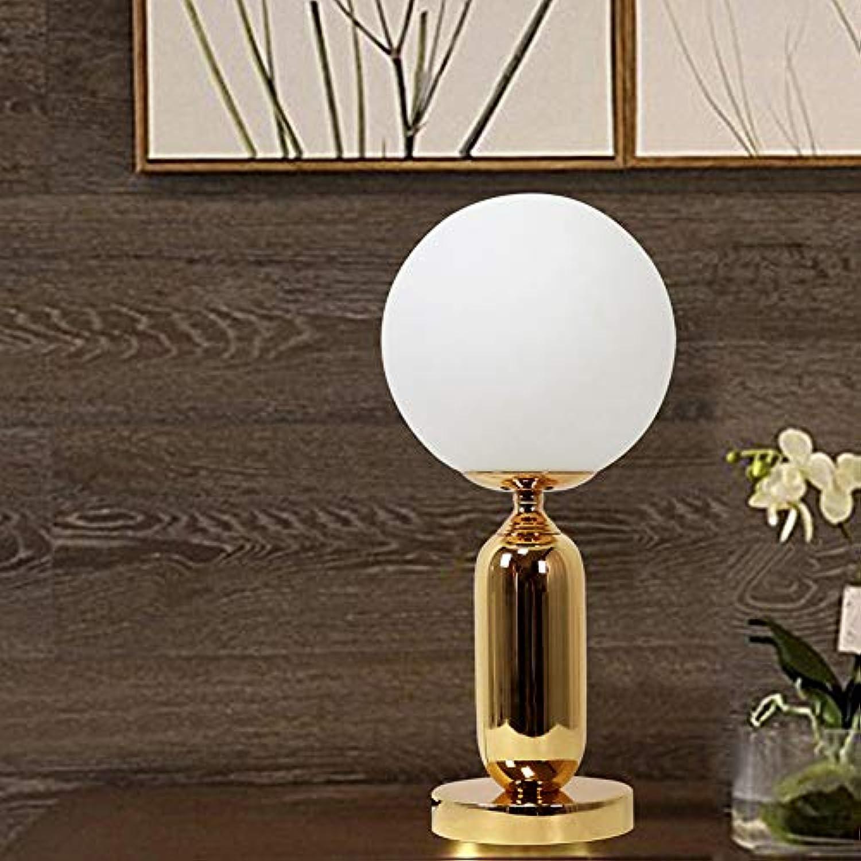 ETH Moderne Ball Tischlampe Schlafzimmer Nachttischlampe Kreative Romantische Amerikanische Retro Warm Wedding Room Europischen Wohnzimmer Studie Schreibtischlampe Roman