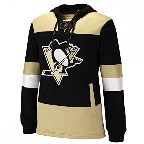 Reebok CCM NHL PITTSBURGH PENGUINS Faceoff Jersey Pullover, Größe:XL