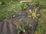 VILMORIN - Toile de Paillage Tissée 1,05 m x 20 m - En Polypropylène 90 g/m² - Favorise la Croissance des Fleurs, Haies, Arbustes - Stoppe les Mauvaises Herbes - Limite l'Arrosage - Protège le Sol