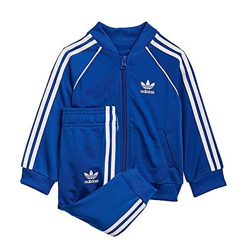 adidas Unisex Baby Sst Tracksuit Trainingsanzug, Team Royal Blue/White, 9 Monate EU