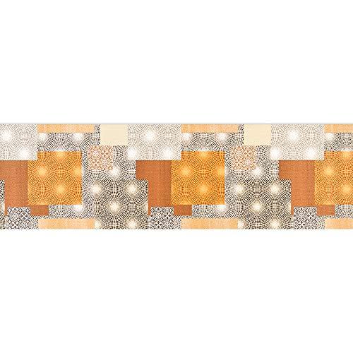 IlGruppone Passatoia Cucina, Tappeto da Ingresso Runner con Stampa Digitale e Fondo Antiscivolo Made in Italy Disponibile in 7 Misure Modello Sardegna - Sardegna - 50x150 cm