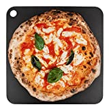 """Steel Pizza Stone for Oven, Professional Pizza Stone Made from Solid Steel, 14""""x14"""" Unbreakable Thick Steel Baking Stone for Pizza and Bread, Create a Pizzeria Style Crust at Home"""